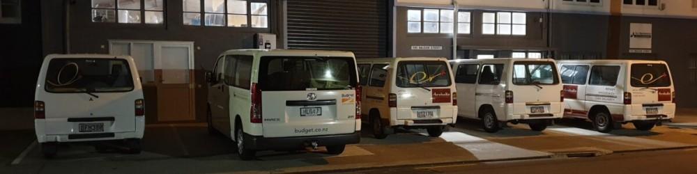 Delivery Van lineup